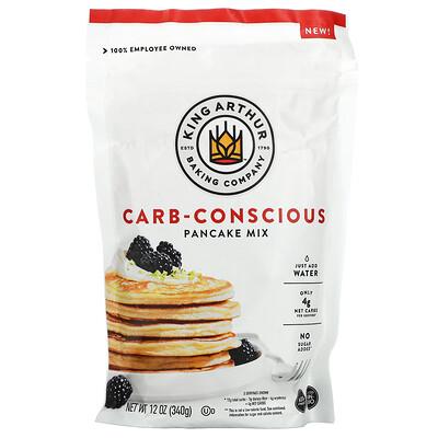 King Arthur Flour Carb-Conscious Pancake Mix, 12 oz (340 g)