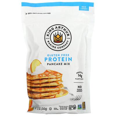 King Arthur Flour Gluten-Free Protein Pancake Mix, 12 oz (340 g)