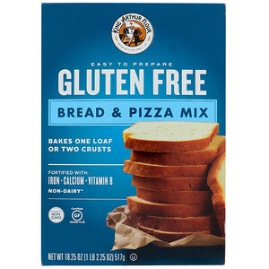 Кинг Артур Флауа, Gluten Free, Bread & Pizza Mix, 18.25 oz (517 g) отзывы покупателей