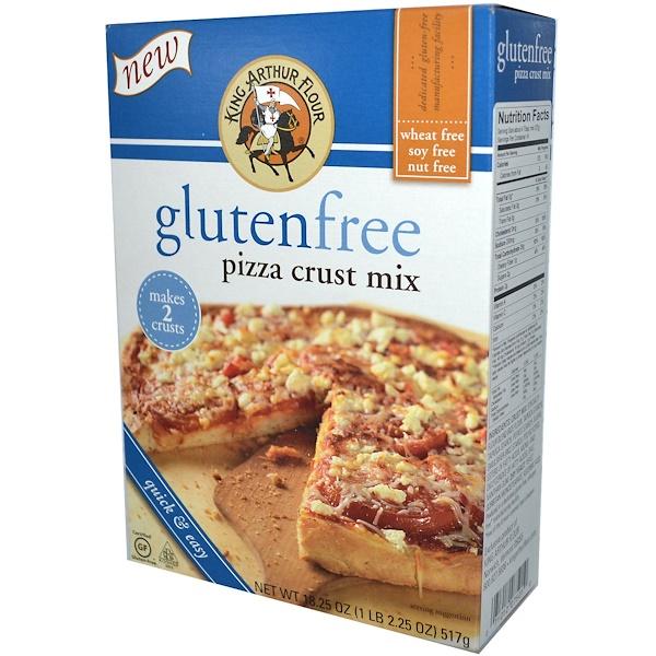 King Arthur Flour, Gluten Free Pizza Crust Mix, 18.25 oz (517 g) (Discontinued Item)