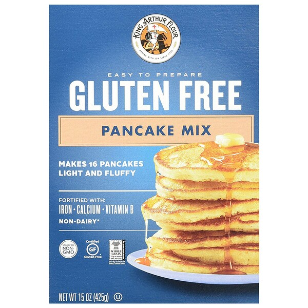 King Arthur Flour, Gluten Free Pancake Mix, 15 oz (425 g) (Discontinued Item)
