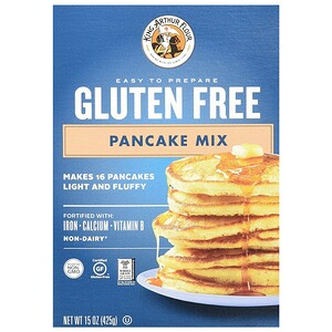 Кинг Артур Флауа, Gluten Free Pancake Mix, 15 oz (425 g) отзывы