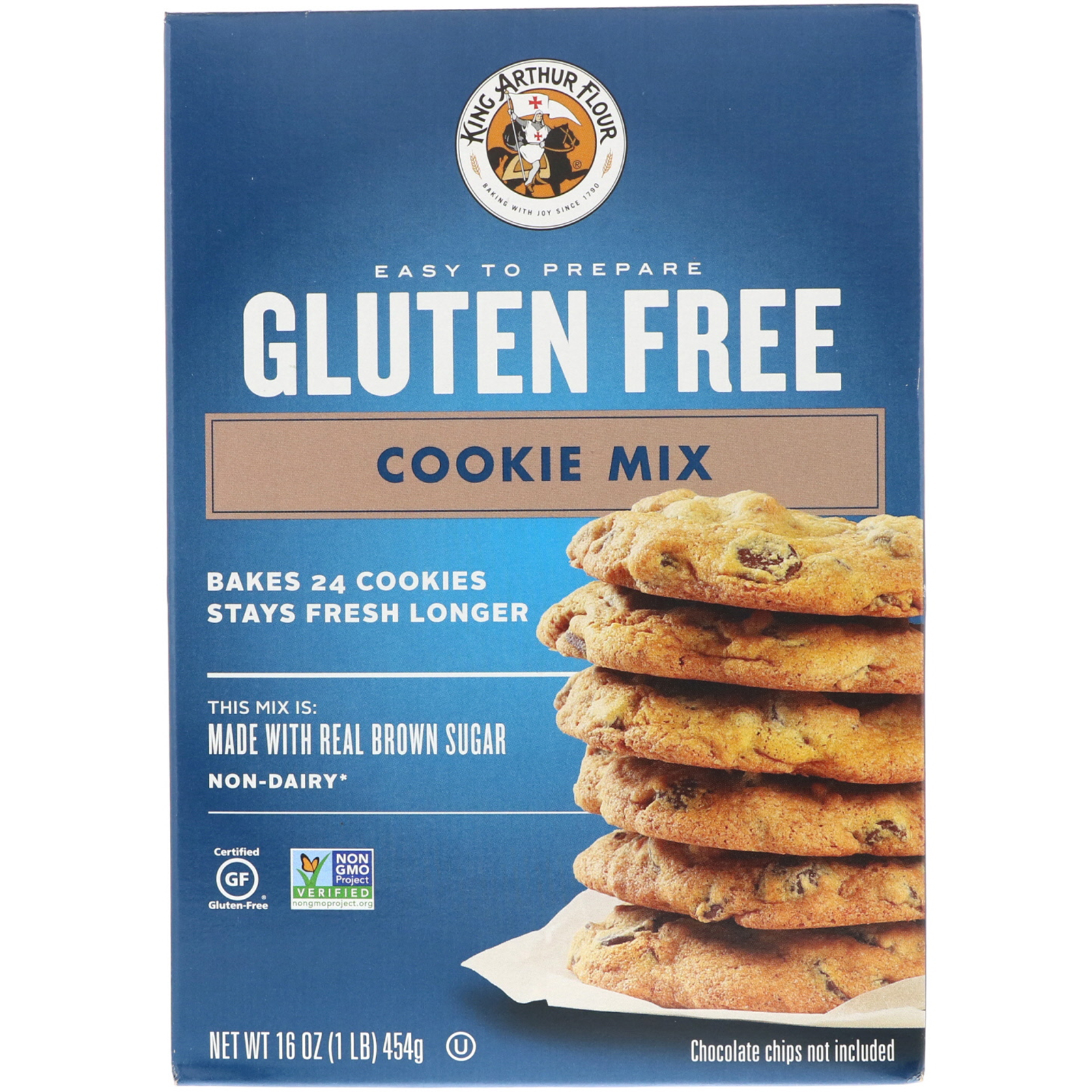 King Arthur Flour Gluten Free Cookie Mix 16 Oz 454 G Iherb