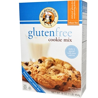 King Arthur Flour, Gluten-Free Cookie Mix, 16 oz (454 g)