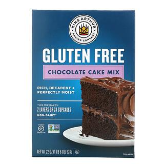 King Arthur Flour, Chocolate Cake Mix, Gluten Free, 22 oz (624 g)