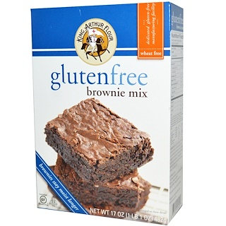 King Arthur Flour, GlutenFree Brownie Mix, 17 oz (482 g)