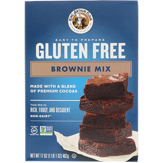 King Arthur Flour, Gluten Free Brownie Mix, 17 oz (482 g)