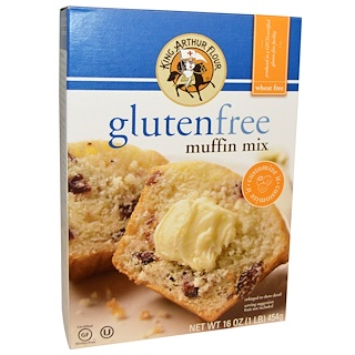 King Arthur Flour, Gluten Free Muffin Mix, 16 oz (454 g)