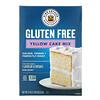 King Arthur Flour, Yellow Cake Mix, Gluten Free, 22 oz (624 g)
