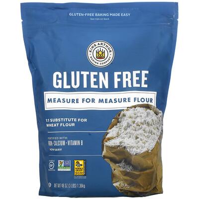 Купить King Arthur Flour Measure For Measure Flour, Gluten Free, 48 oz (1.36 kg)