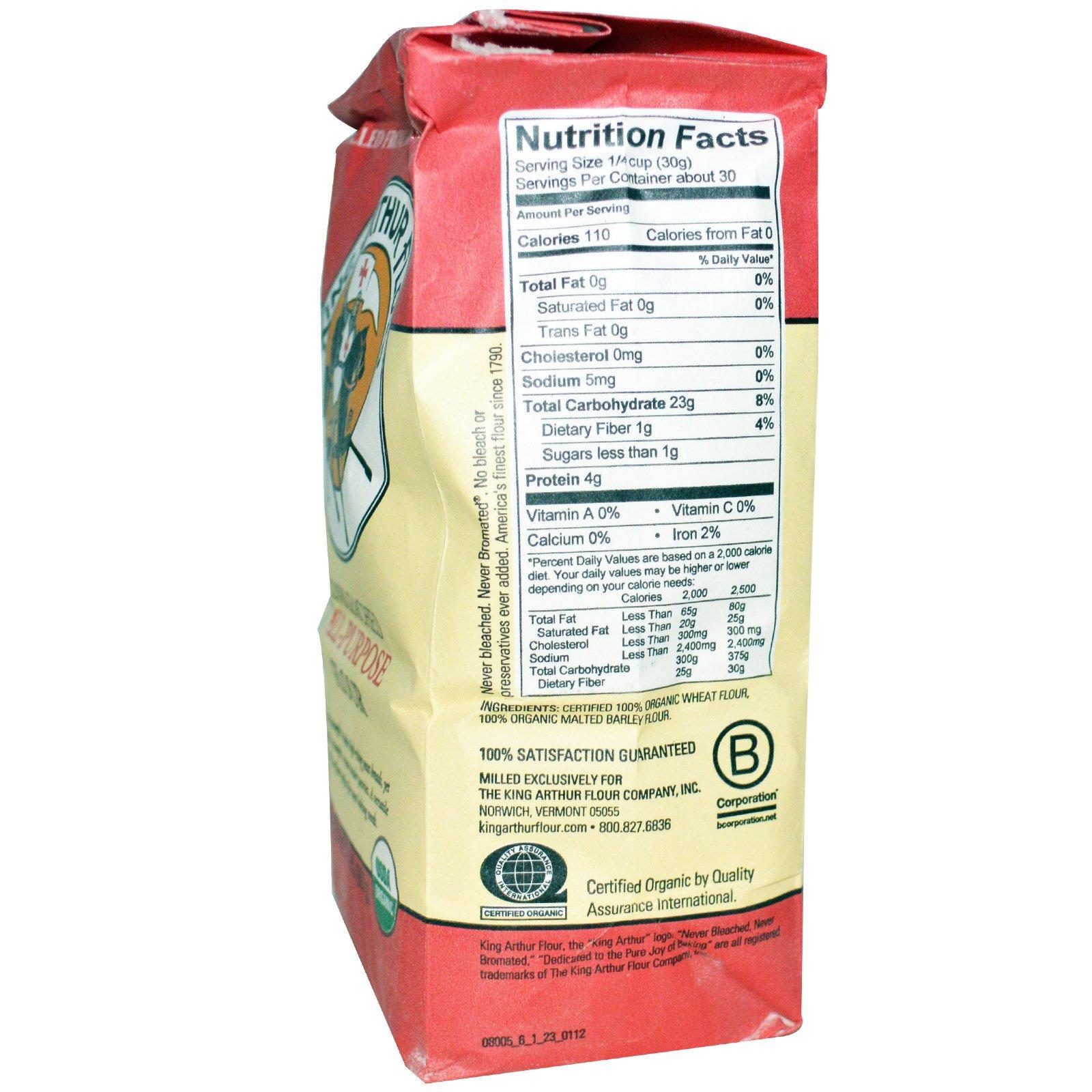 King Arthur Flour, Organic Unbleached