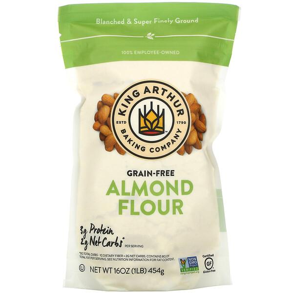 Almond Flour, Grain-Free, 16 oz (454 g)