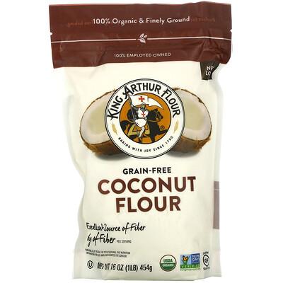 Купить King Arthur Flour Coconut Flour, Grain-Free, 16 oz (454 g)