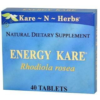 Kare n Herbs, Energy Kare, 40 Tablets