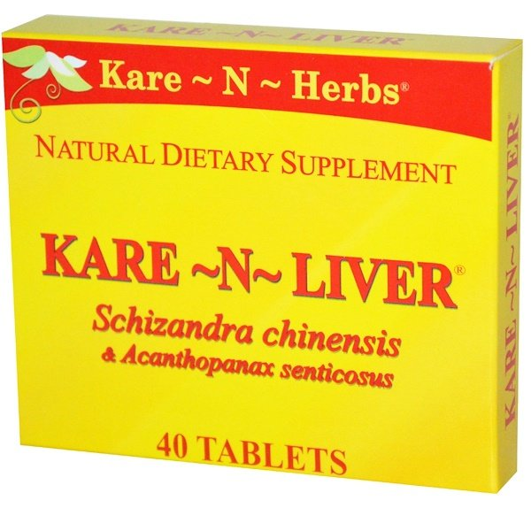 Kare n Herbs, Kare-N-Liver, 40 таблеток (Discontinued Item)