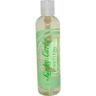 Kinky-Curly, Come Clean, Natural Moisturizing Shampoo, 8 oz (236 ml)