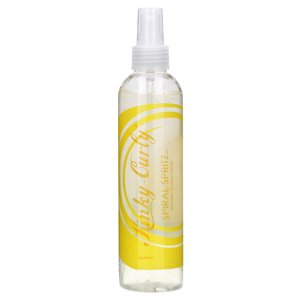 Kinky-Curly, Spritz Espiral, Soro de Estilo Natural, 8 oz (236 ml)