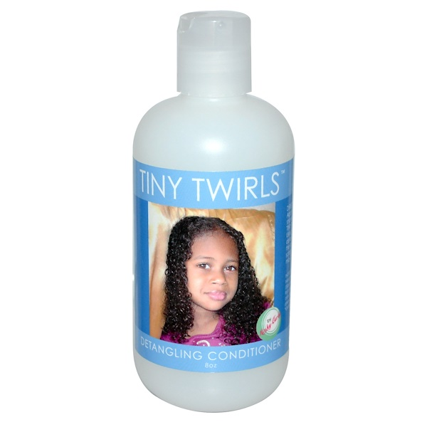 Kinky-Curly, Tiny Twirls, Detangling Conditioner, 8 oz (Discontinued Item)