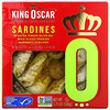 King Oscar, Sardines In Extra Virgin Olive Oil With Sliced Spanish Manzanilla Olives, 3.75 oz (106 g)