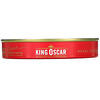 King Oscar, 沙丁鱼,载于含红灯笼椒的高级初榨橄榄油中,迷迭香和辣椒,3.75 盎司(106 克)