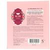 Koelf, Ruby Red Rose Hydro Gel Mask Pack, 5 Masks, 30 g Each
