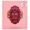 Koelf, Ruby Bulgarian Rose Hydrogel Beauty Face Mask Pack, 5 Sheets, 1.05 oz (30 g) Each