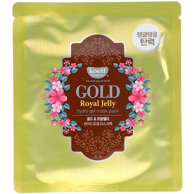 Купить Koelf Набор гидрогелевых масок Gold Royal Jelly, 5 листов, весом 30 г каждый