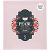 Koelf, Pearl Shea Butter, Hydro Gel Beauty Mask Pack, 5 Sheets, 30 g Each