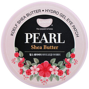 Koelf, Pearl Shea Butter, Hydro Gel Eye Patch, 60 Patches отзывы