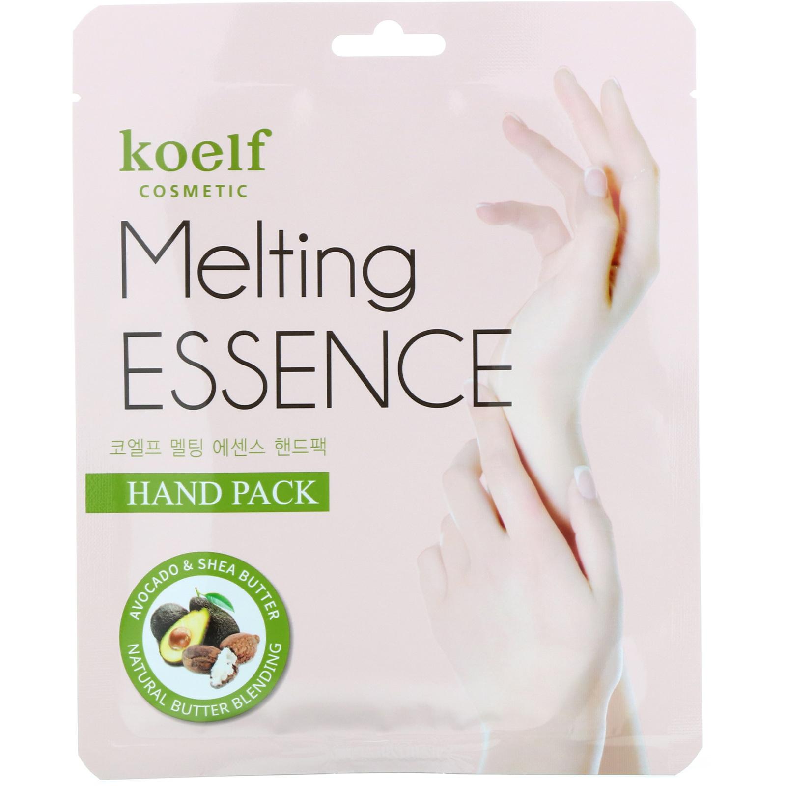 Koelf Melting Essence ماسك اليدين 10 أزواج من القفازات Iherb