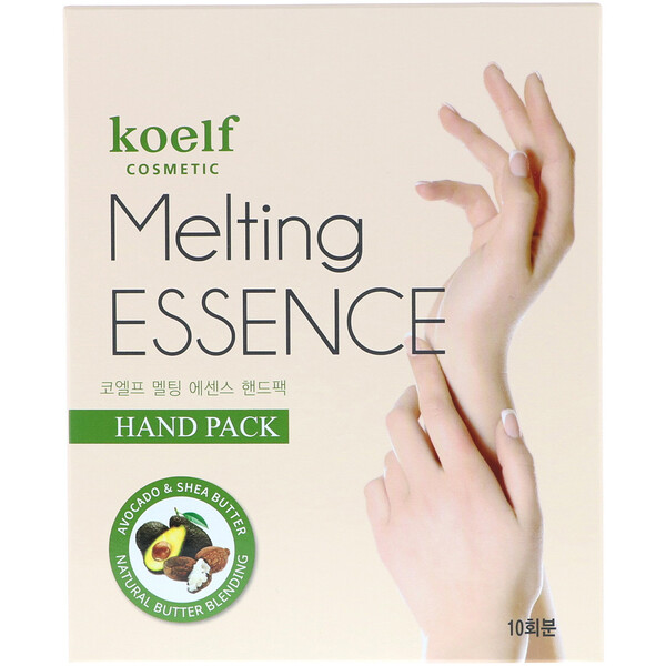 Koelf, Melting Essence Hand Pack, 10 Pairs