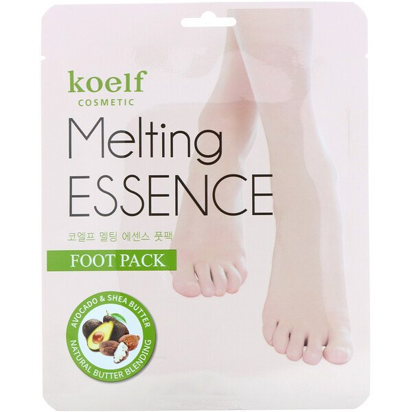 Melting Essence Foot Pack, 10 Pairs