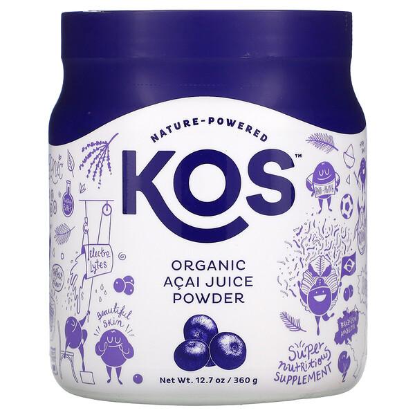 有機抹巴西莓汁粉,12.7 盎司(360 克)