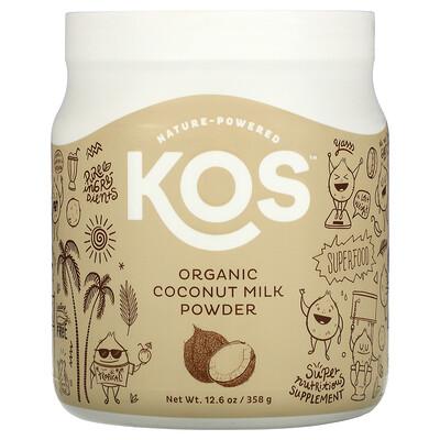 Купить KOS Organic Coconut Milk Powder, 12.6 oz (358 g)