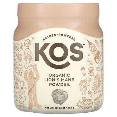 Купить KOS Organic Lion's Mane Powder, 12.84 oz (364 g)