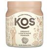 KOS, Organic Lion's Mane Powder, 12.84 oz (364 g)