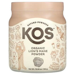 KOS, порошок органического ежовика гребенчатого, 364 г (12,84 унции)