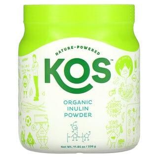 KOS, органический инулин в порошке, 336г (11,85унции)