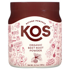 KOS, 有機甜菜根粉,12.7 盎司(360 克)
