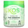 KOS, Show Me The Greens, Super Tasty Veggie Blend, Green Apple Sorbet, 9.38 oz (266 g)