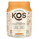 KOS, 有機植物蛋白,巧克力花生醬,1.28 磅(583 克)