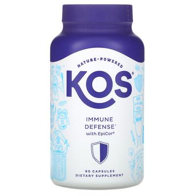 Купить KOS Immune Defense with EpiCor, 90 Capsules