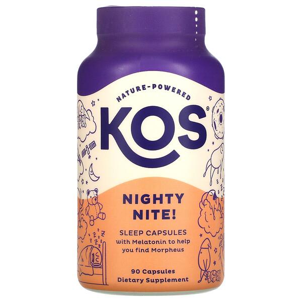 Nighty Nite!, Sleep Capsules, 90 Capsules