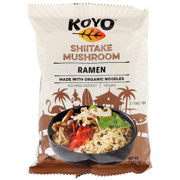 Koyo Natural Foods, Shitake Mushroom Ramen, 2 oz (57 g)
