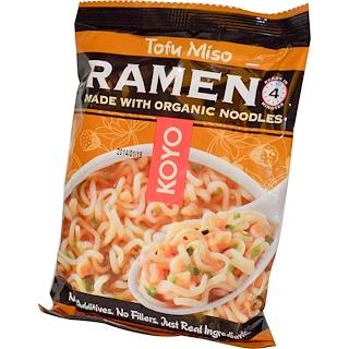 Koyo Natural Foods, Tofu Miso Ramen, 2 oz (57 g)