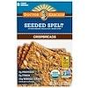Dr. Kracker, Seeded Spelt Crispbreads, 8 Crispbreads, 7 oz (200 g)