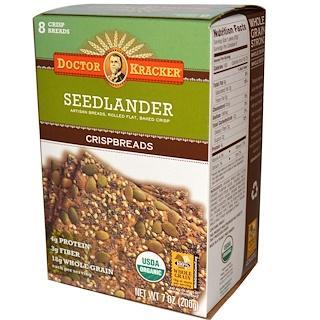 Dr. Kracker, Organic Seedlander Crispbreads, 7 oz (200 g)