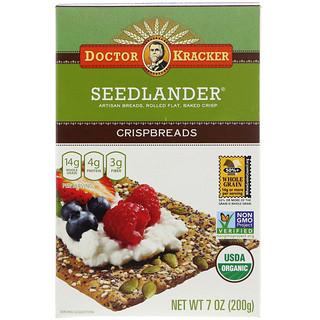 Dr. Kracker, Органические хлебцы Seedlander, 7 унц. (200 г)