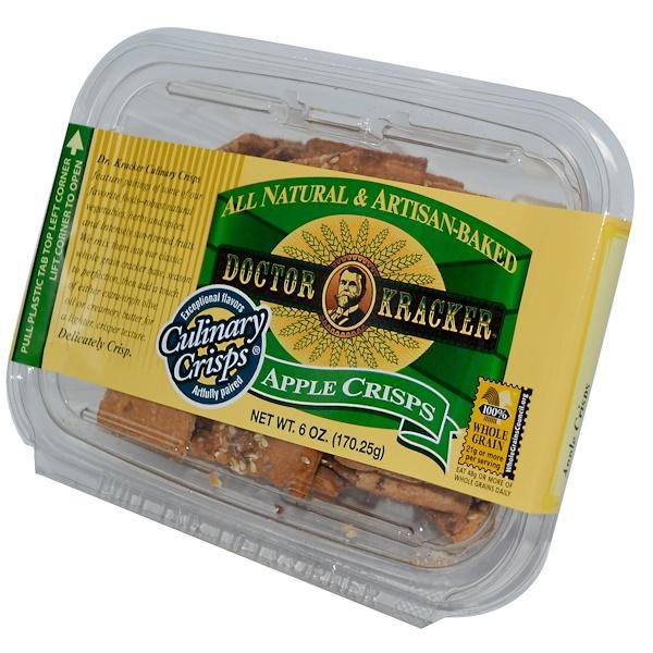 Dr. Kracker, Кулинарные Чипсы, вкус яблока 6 унции (170.25 г) (Discontinued Item)