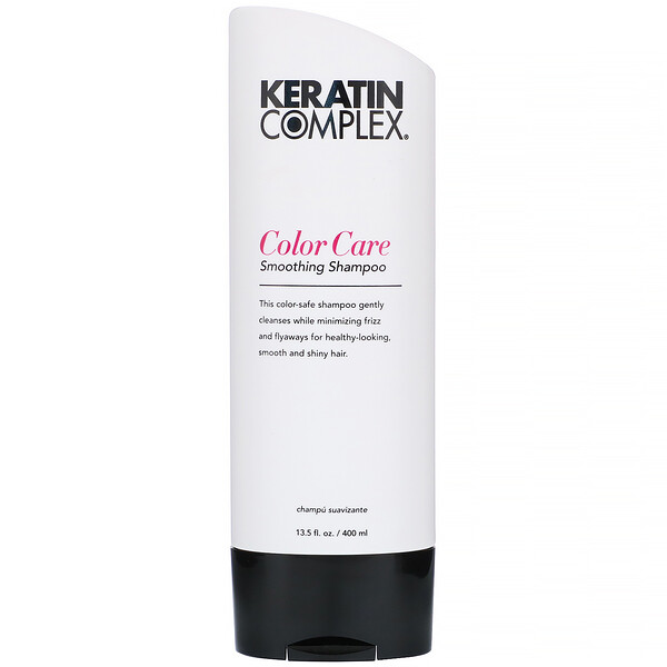 Keratin Complex, Color Care Smoothing Shampoo, 13.5 fl oz (400 ml)